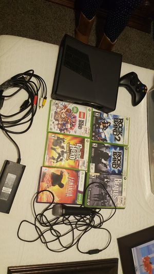 Xbox 360 and Rockband for Sale in Belleville, MI