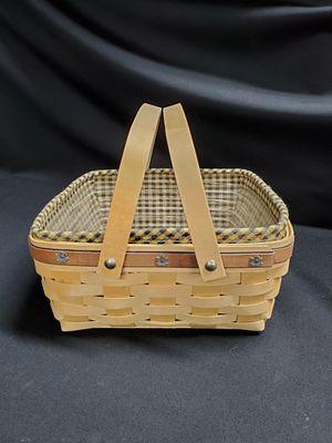 Longaberger Harvest Basket for Sale in Tacoma, WA