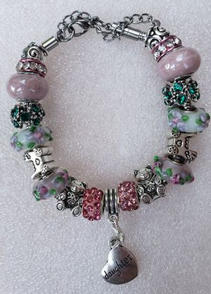 Baby girl mom to be charm bracelet 1 for $15 or 2 for $25 for Sale in Baltimore, MD