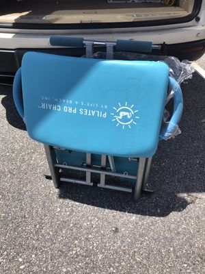 Pilates Pro Chair Life's a Beach blue for Sale in Pooler, GA