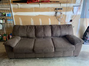 Brown Couch for Sale in Bothell, WA