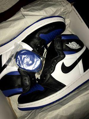 Jordan 1 royal toe size 10.5 for Sale in Lynwood, CA