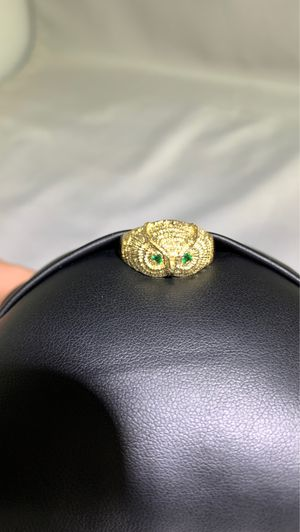 18kt gold owl rings for Sale in Charlotte, NC