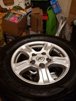 2008-2018 toyota tundra, sequoia tires and wheels for Sale in Lake Stevens,  WA