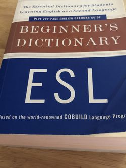 ESL Beginner's Dictionary  for Sale in Lynnwood, WA