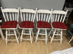 Set of 4 bar stools for Sale in Elk Grove, CA