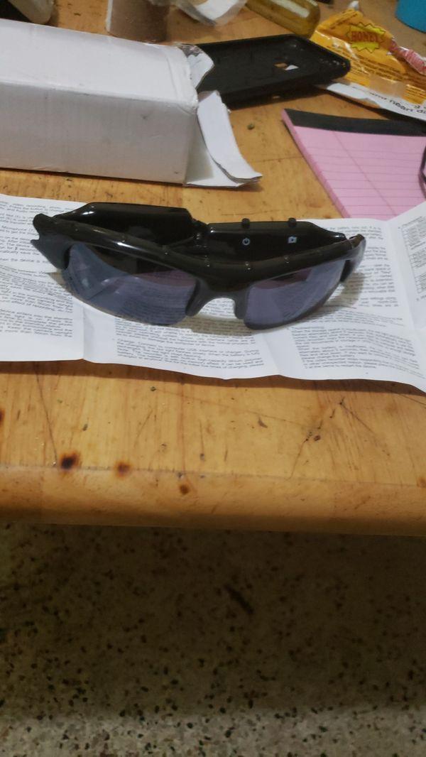 Sunglasses camera spy equipment