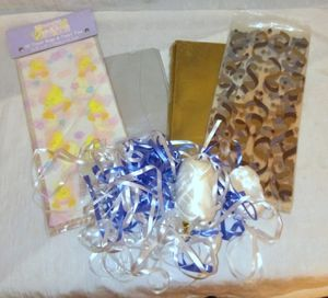 Gift / Treat Bags, Tissue Paper & Curling Ribbons Lot for Sale in Largo, FL