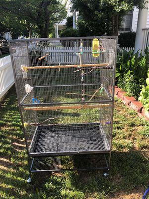 Bird cage large flight cage for Sale in Rockville, MD
