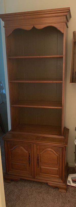 Solid bookshelf with storage for Sale in Clearwater, FL