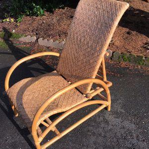 Boho - Bamboo - Wicker - Cane Chair for Sale in Everett, WA