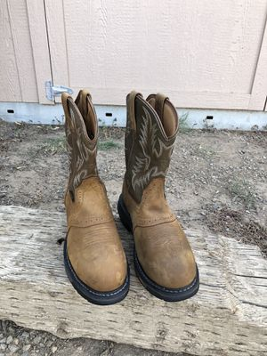 Ariat Composite Toe Work Boots Size 9.5 D for Sale in Fresno, CA