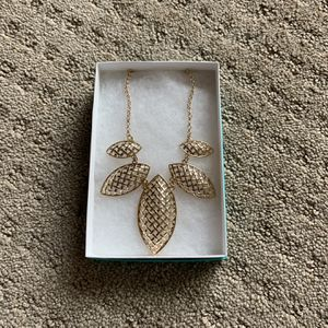 Bancroft Bettina Statement Necklace Gold for Sale in San Diego, CA