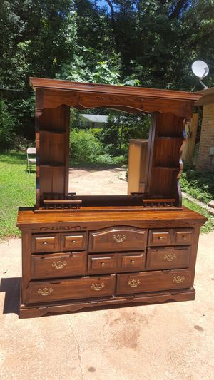Dresser and chest of drawer with mirror asking 120 all for Sale in Tucker, GA