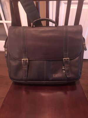 Samsonite leather briefcase for Sale in undefined
