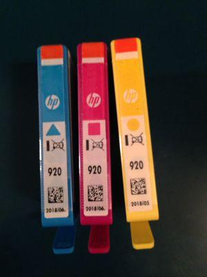 HP920 ink for Sale in Manassas, VA