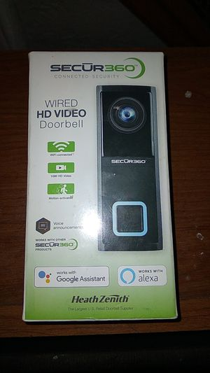 Security door bell camera for Sale in NEW PRT RCHY, FL