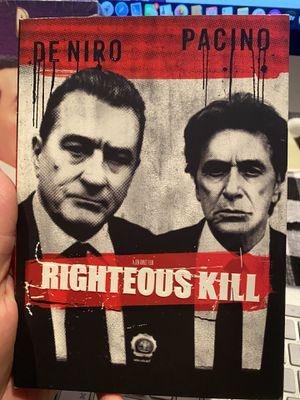 Righteous Kill (DVD, 2009) for Sale in Las Vegas, NV