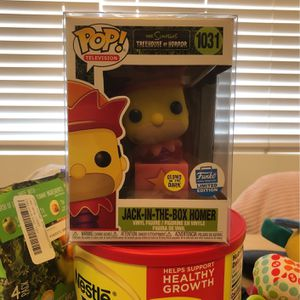 Jack In The Box Homer The Simpsons Funko Pop for Sale in Los Angeles, CA