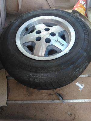 Jeep wheels for Sale in Chowchilla, CA