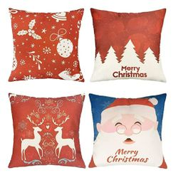 4Pcs Christmas Throw Pillow Covers for Sale in Las Vegas,  NV