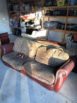 ***FREE*** Couch, love seat with ottoman. Come and get it! for Sale in Bonita, CA