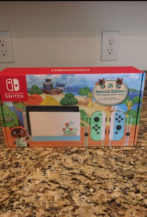 Nintendo switch animal crossing console for Sale in Auburndale, FL