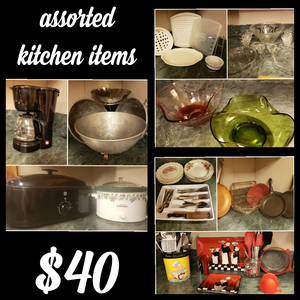 Assorted kitchen items for Sale in Saint Landry, LA