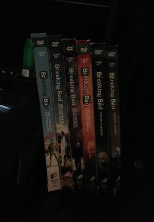 BREAKING BAD SEASONS 1-6 DVD SET. for Sale in Brentwood, TN