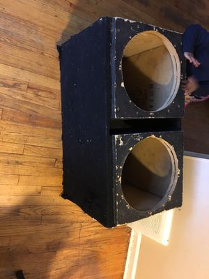 15 sub box for Sale in Detroit, MI