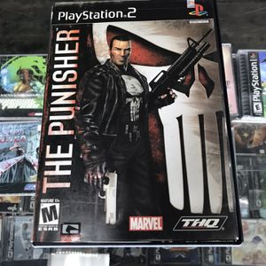 The Punisher Ps2 $55 Gamehogs 11am-7pm for Sale in Bell Gardens, CA