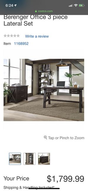 New 3 piece desk set for Sale in Lake Stevens, WA