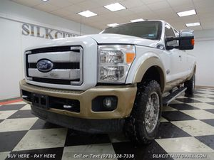 2012 Ford F-350 Super Duty King Ranch DIESEL NM Truck NO RUST! for Sale in Paterson, NJ