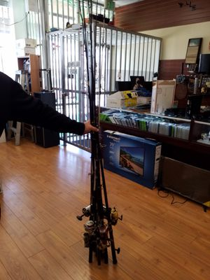 Fishing rods with reels for Sale in Los Angeles, CA