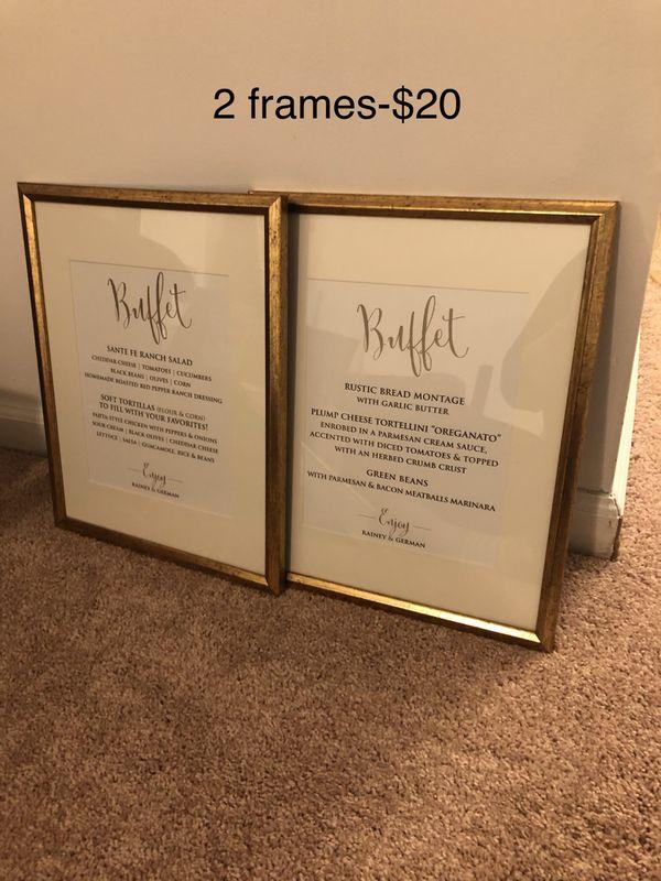 Frames- gold