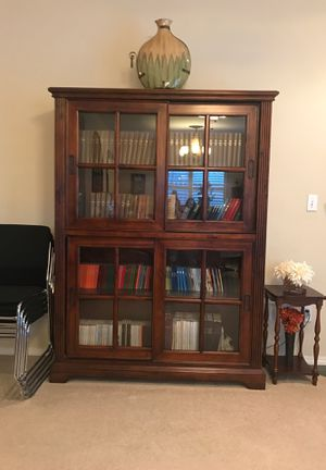 Book Cabinet with lights for Sale in Grover Beach, CA