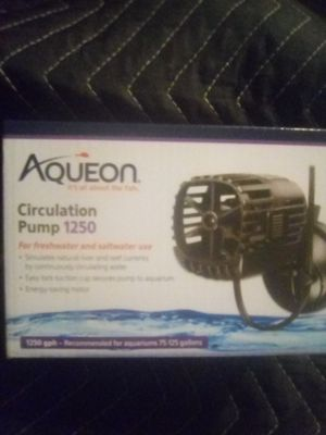 Aqueon circulation pump 1250 for Sale in Philadelphia, PA