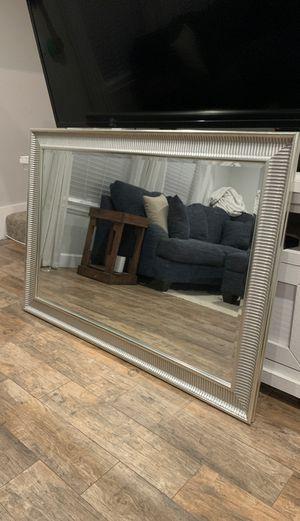 Silver Wall Mirror for Sale in Costa Mesa, CA