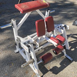 Kneeling Leg Curl Gym equipment Hammer Strength for Sale in Miami, FL