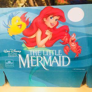 Vintage Disney VHS Display Ariel Little Memaid 1989 for Sale in Portland, OR