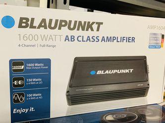 Blaupunkt 1,600 4 Channe Amp for Sale in San Bernardino,  CA