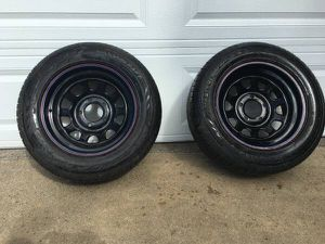 205 60 15 Tires (New) with rims (Chevy and GM) for Sale in Tigard, OR