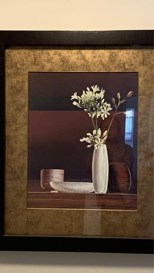 Glass and wood frame art for Sale in Rochester, MI