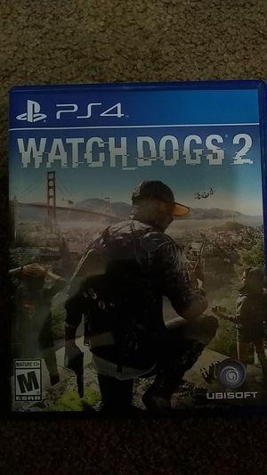 PlayStation 4 Watch Dogs 2 for Sale in Millbrook, AL