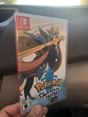 Pokémon Sword for Nintendo Switch for Sale in Los Angeles, CA