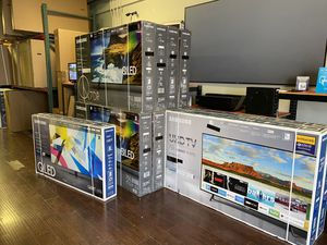 HUGE TV SALE SMART 4K BRAND NEW ! QLED OLED TCL ROKU SAMSUNG LG SONY VIZIO for Sale in Alhambra, CA