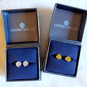 💝 (2 Pair) Lustro Stella Earrings In Original Boxes for Sale in Fort Lauderdale, FL