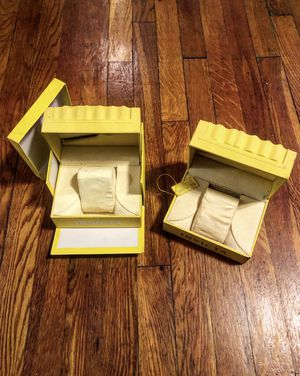 Invicta watch boxes (men or women) great condition never used for Sale in Washington, DC