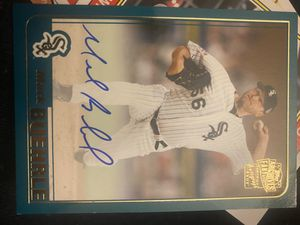 Signed teal baseball card for Sale in San Jose, CA
