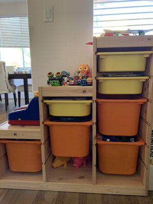 IKEA Trofast storage combination kids pine for Sale in San Diego, CA